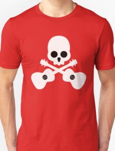 Old Skull Music Guitar T-Shirt