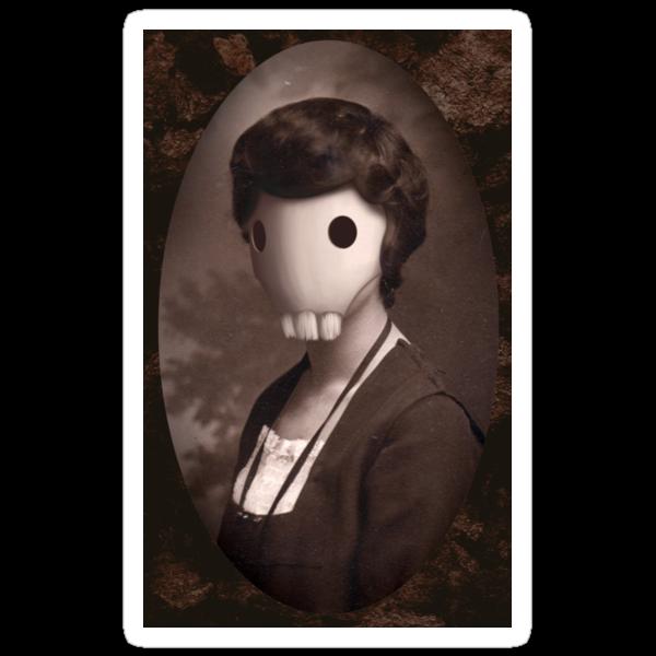 Skull Girl by Kabi Jedhagen