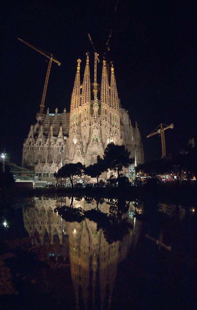 Sagrada Familia by Martyn Coupland
