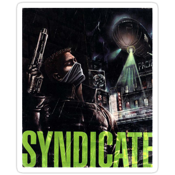 Syndicate Back Cover by vidyagames