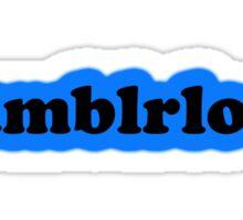 Tumblrlock Sticker