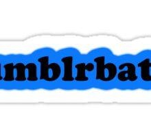 Tumblrbatch Sticker