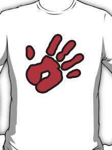 Hand Print (red) T-Shirt