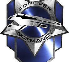 Forever Normandy Badge by Allen Blair III