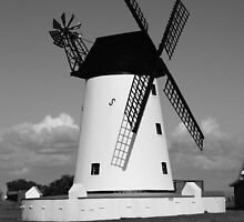 The Windmill at Lytham by CliveSluter