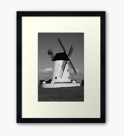 The Windmill at Lytham Framed Print
