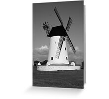The Windmill at Lytham Greeting Card
