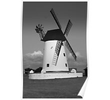 The Windmill at Lytham Poster