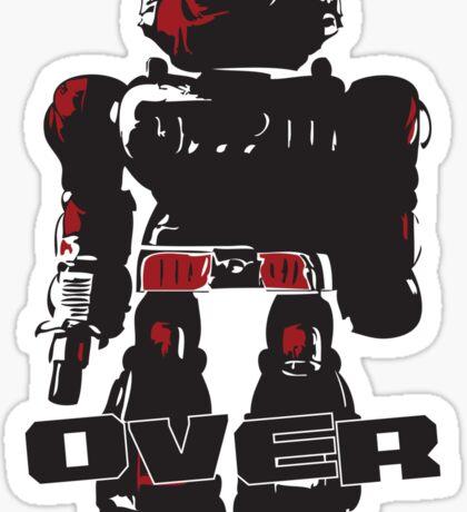 Robot Over Sticker