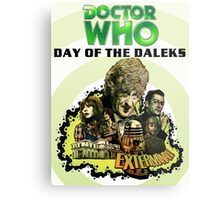 DR WHO DAY OF DALEKS Metal Print