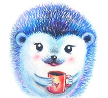 Blueberry Hedgehog  by Willow Heath