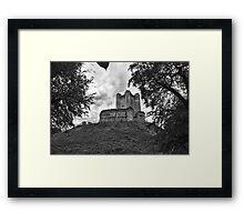 Conisbrough Castle Framed Print