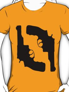 Handguns by Chillee Wilson T-Shirt