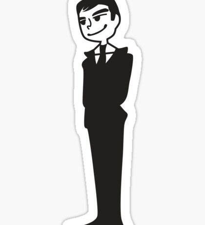Moriarty and Apple Sticker