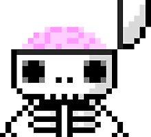 Li'l Spookies: Skeleton  by MelancholyChild