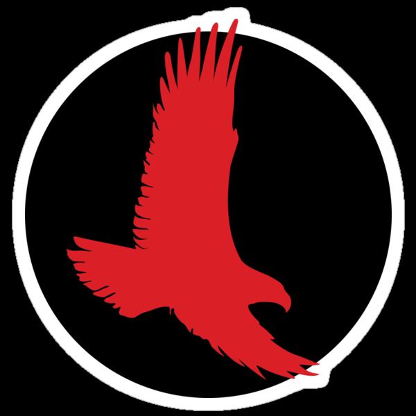 Red Hawk Roundel by spackletoe