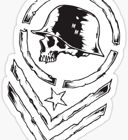 Heavy Metal Music Sticker