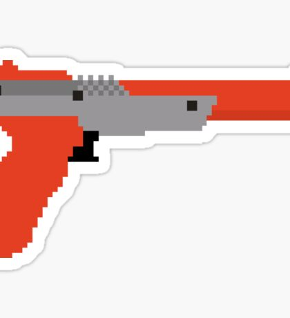 8 bit zapper Sticker