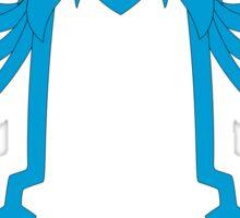 CAUTION Squid Girl Alert! degeso~ Sticker