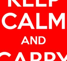 Keep Calm and Carry Binkies Sticker Sticker