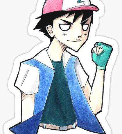 Pokemon: Ash Ketchum Sticker