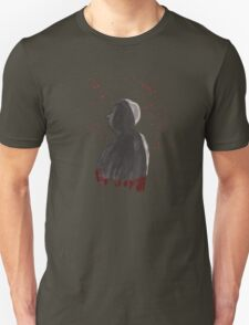 Hand painted Hitchcock T-Shirt