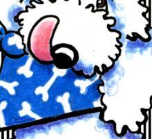 Dog Bon Appetit! Gourmet Pet Treats Thank You Stickers {white} Sticker