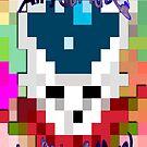 Stealing faces when 8 bit was new by Jaysen Edgin