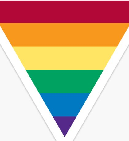 Gay Pride Flag Sticker