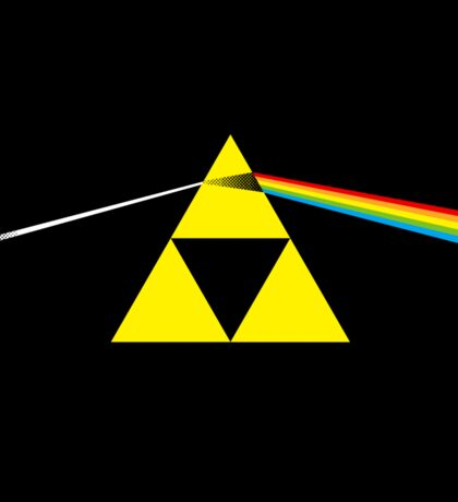 The Dark Side of the Triforce - sticker Sticker