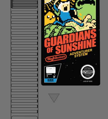Guardians of Sunshine: Cartridge Sticker