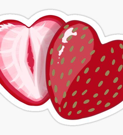 Love You Berry Much Sticker