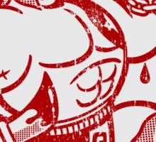 GO SPARTANS! - STICKER Sticker