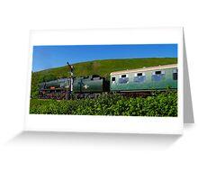 Bullied Pacific 34028 Eddystone Greeting Card