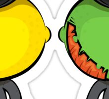 Dr. Lemon & Mr. Lime Sticker