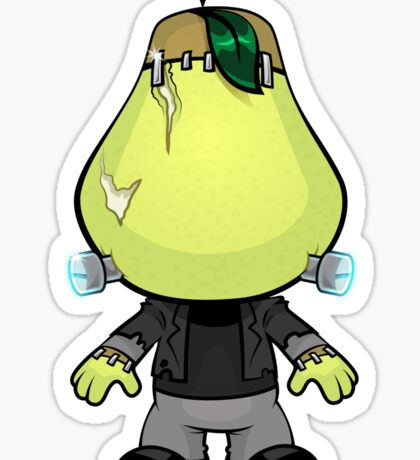 Frankenstein's Pear Sticker