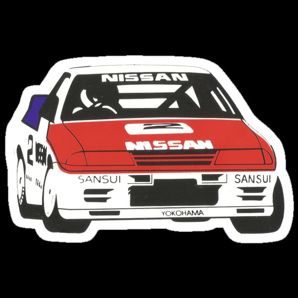 Nissan Skyline R32 GTR, Group A Race car - the original Godzilla. by whm001