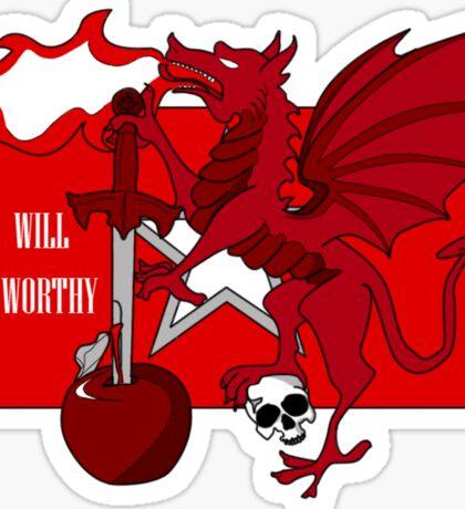 Republic Red Army Sticker