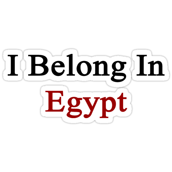 I Belong In Egypt by supernova23