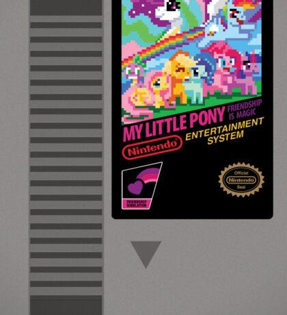 MLP Retro Cart Sticker