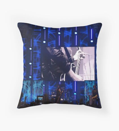 Sound of guitars Throw Pillow
