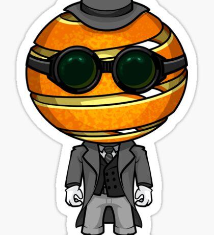 The Invisible Orange Sticker