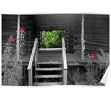 Homestead verandah Poster