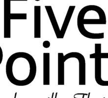 Five Points, Jacksonville, Florida Sticker