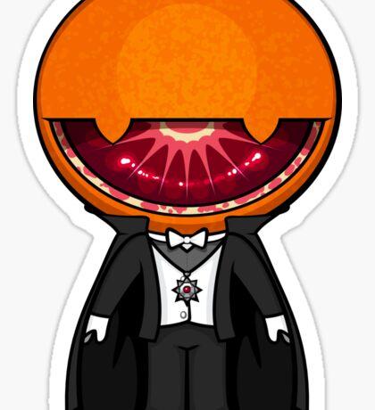 Count Blood Orange Sticker