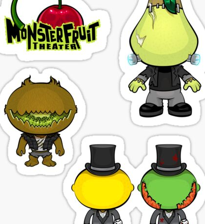MonsterFruit Theater Large Sticker Sheet 1 Sticker