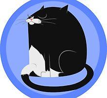 Tuxedo Cat by TheGreys