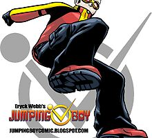 Jumping Boy - Series 1 - Series Launch Sticker by ewgraphics