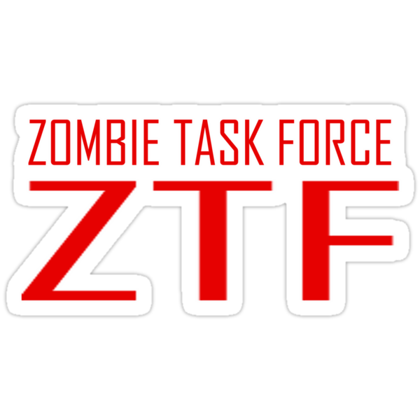 Zombie Task Force Tee by dvampyrelestat