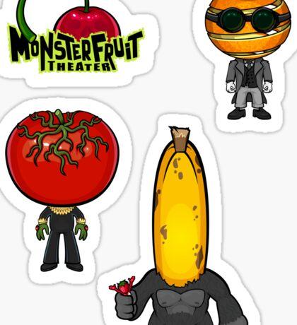 MonsterFruit Theater Large Sticker Sheet 2 Sticker